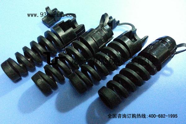 耐扭式带尾挡电源线扣 安全性更高