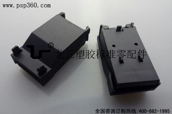 B403快接接线盒 黑色尼龙料防火阻燃
