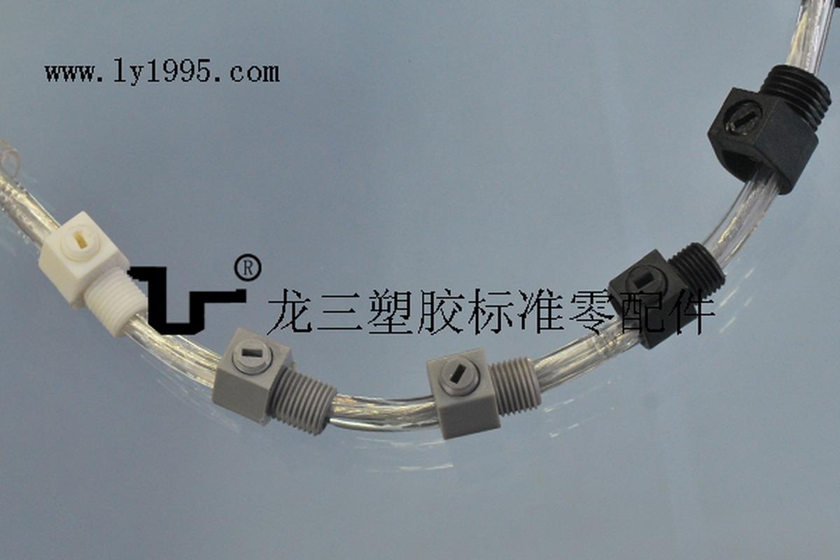 ROHS认证固线器5100-7外牙线扣全牙8MM