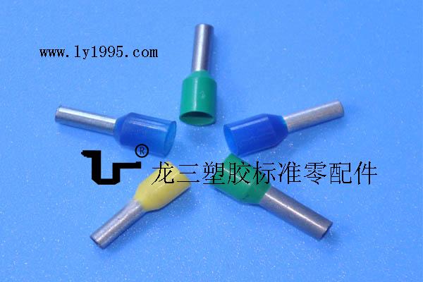 管型预绝缘端子 快速电缆铜冷压接线端子