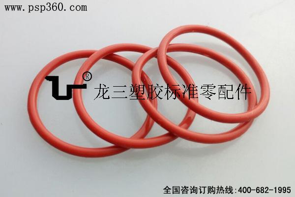 耐高温O型圈 食品级硅胶密封圈 红色白色