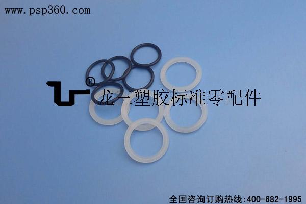 龙三塑胶供应硅胶O型密封圈 尺寸齐全