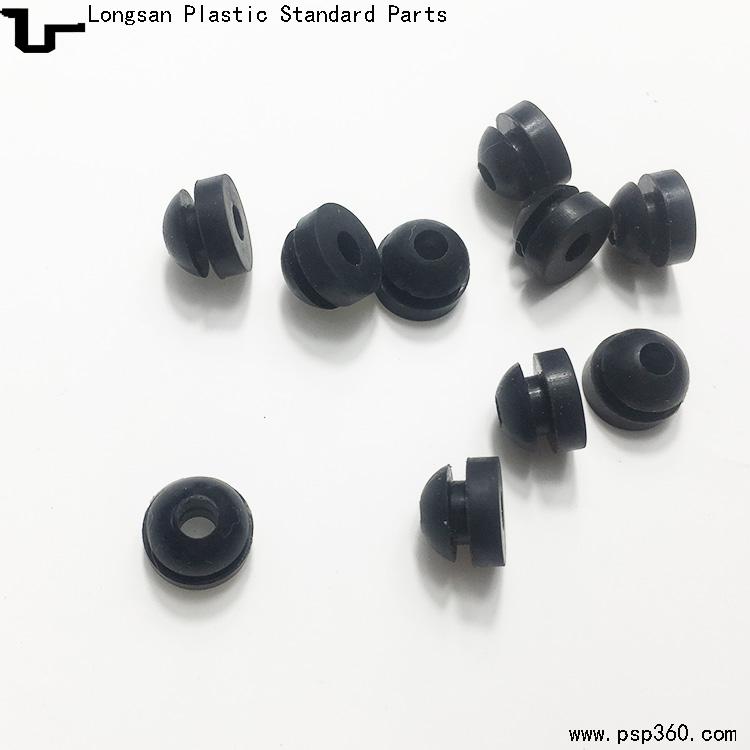 硅胶出线护套橡胶孔塞W-4护线套T型护线环