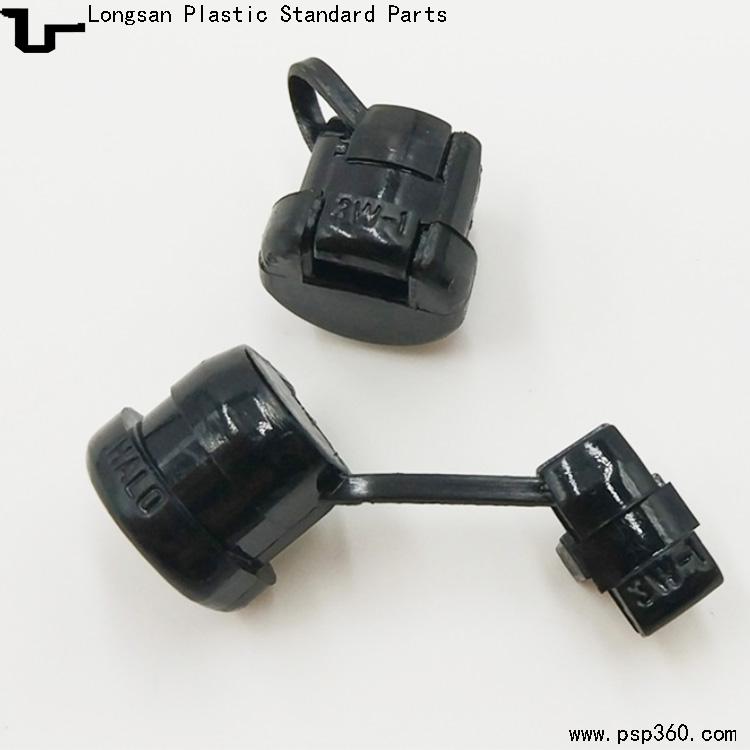 3W-1电源线扣塑料固定扣电源线卡线扣适用于扁线