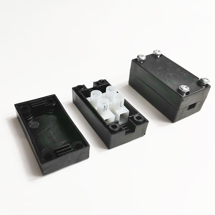 新款028接线盒 优质小型电气接线盒PP环保