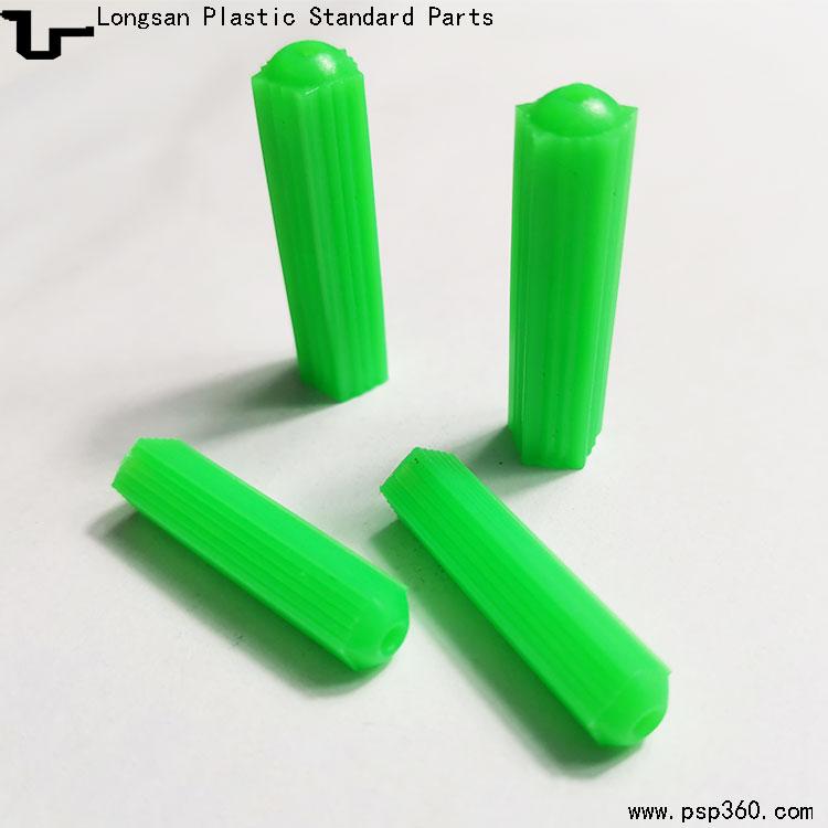 尖尾直通式绿色胶塞6厘8厘