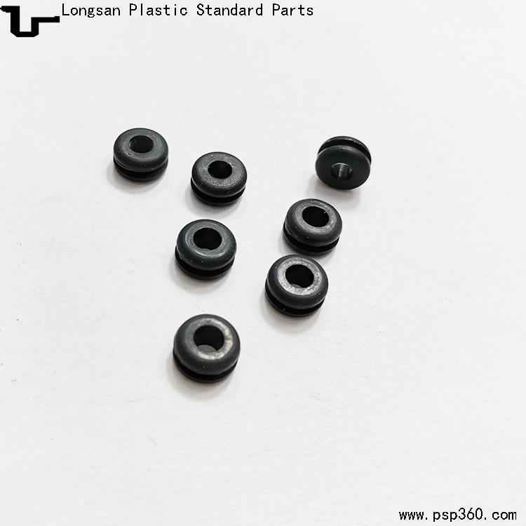 内径3.8mm硅胶护线环电源线护线套双面硅胶护线圈