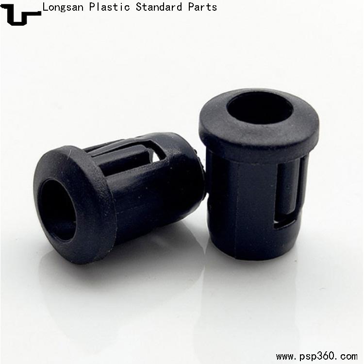 黑色塑料灯套LED-5B灯座钻孔7.9mm发光二极管LED间隔柱