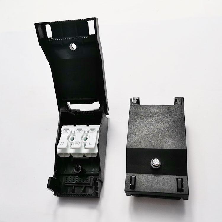923快接端子盒 黑色白色现货