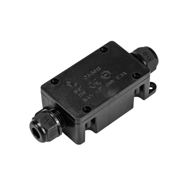 5618防水接线盒一进一出IP67防水等级户外电缆接线盒