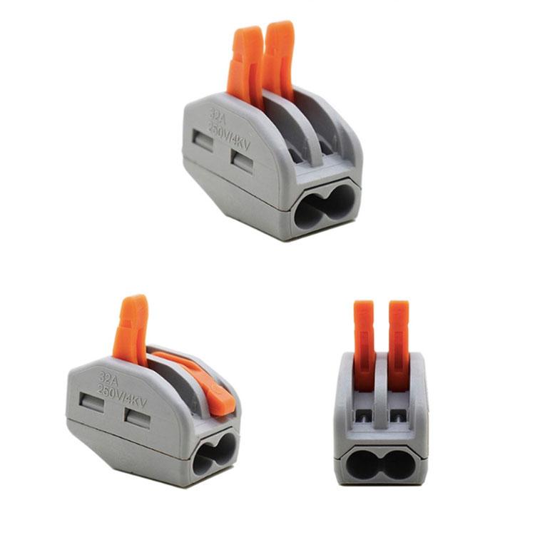 2位快速插入式电线连接器接线端子PCT-212