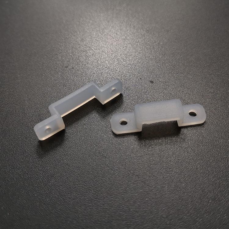 LED灯带固定扣卡子3528耐高温硅胶固定夹