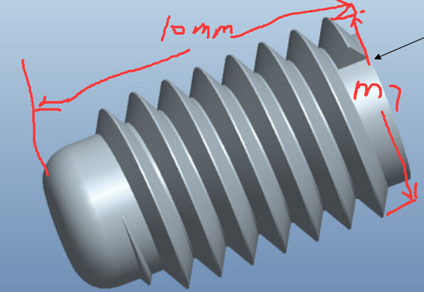 m7x10塑料螺丝尺寸