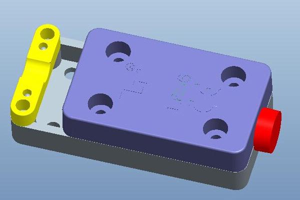 L656防尘防水接线盒三维图片