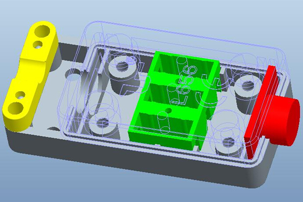L656防尘防水接线盒结构图