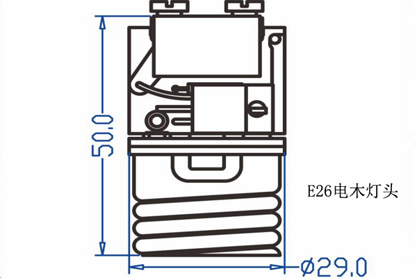 E26电木灯座