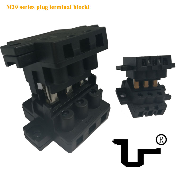 M29大电流路灯用公母对插端子台